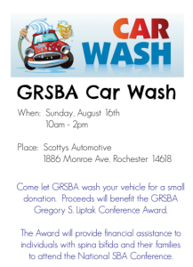 GRSBA CAR WASH FLYER
