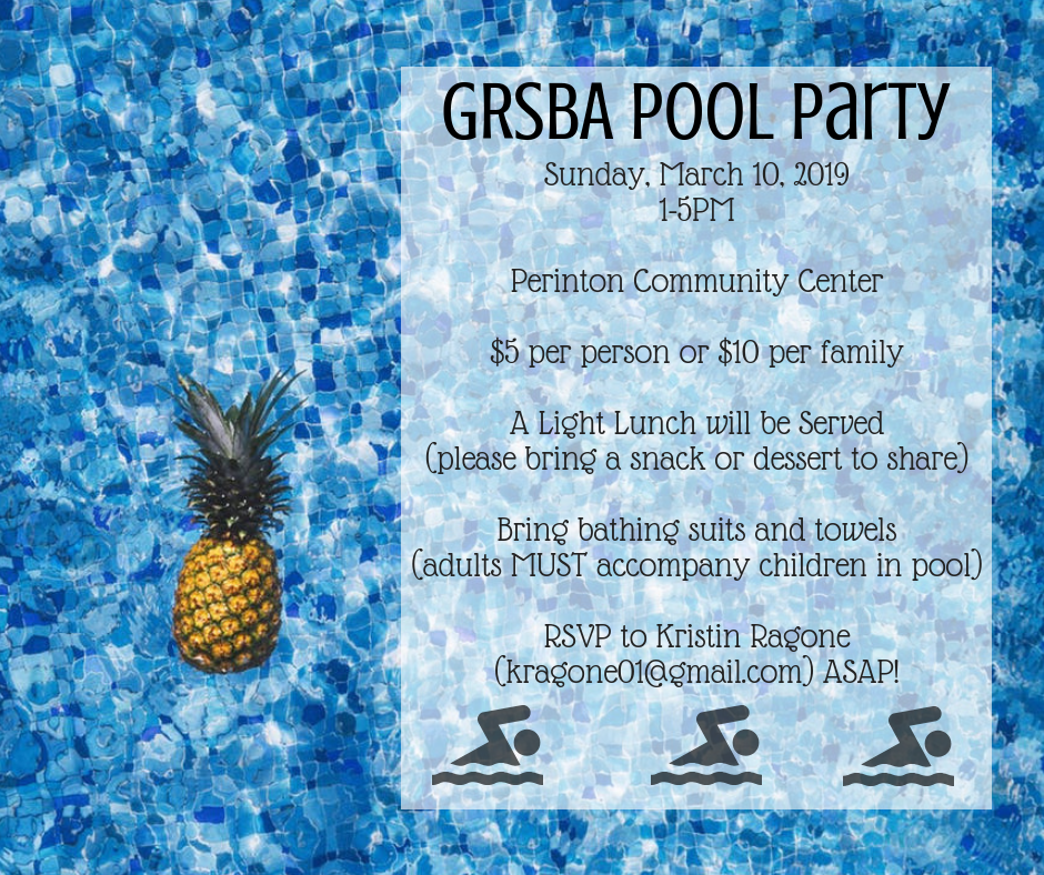 GRSBA Pool Party - March 2019